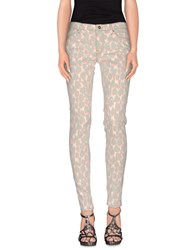 Mauro Grifoni Denim Denim Trousers Women Apricot
