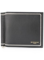 Givenchy Chain Trim Wallet Black