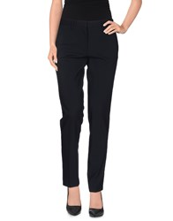 Manuel Ritz Trousers Casual Trousers Women Dark Blue