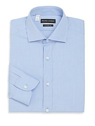 Ralph Lauren Tailored Fit Cotton Dress Shirt Light Blue