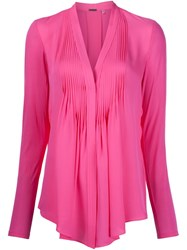 Elie Tahari 'Chelsea Girl' Blouse Pink And Purple