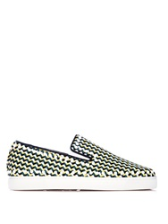 Christian Louboutin Pik Boat Slip On Trainers