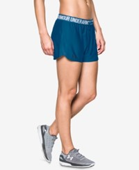 Under Armour Play Up Shorts Heron Midnight Navy