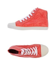 Civic Duty High Tops And Trainers Red