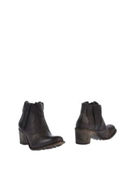 Nylo Ankle Boots Steel Grey