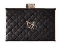 Love Moschino I Love Superquilted Evening Clutch Black Clutch Handbags