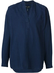 Rag And Bone Rag And Bone 'Barcelona' Tunic Shirt Blue