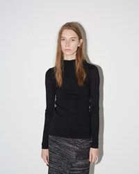 Isabel Marant Zasha Thin Ribbed Knit Black