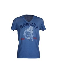 Bowery Topwear T Shirts Men Pastel Blue