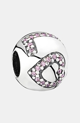 Pandora Design 'Surround By Love' Bead Charm Sterling Silver