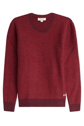 Burberry London Wool Pullover Red