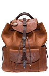 Will Leather Goods 'Rainier' Leather Backpack Brown