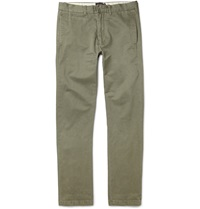 Grayers Newport Slim Fit Cotton Twill Chinos Green