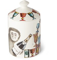 Fornasetti Scimmie Scented Candle 300G White