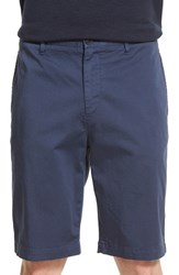 Theory Men's 'Brucer Greely' Stretch Cotton Shorts Navy