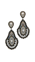 Miguel Ases Addison Earrings Black Multi
