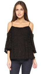 Bailey44 Tusk Lace Top Black