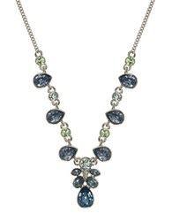 Givenchy Amazon Multicolor Crystal Necklace Blue