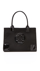 Tory Burch Nylon Mini Ella Tote Black