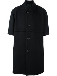 Raf Simons Short Sleeved Coat Black