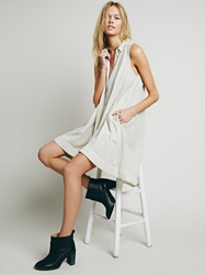 Free People All You Need Shirt Dress Tea Combo