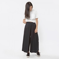 Bodice Inverted Pleated Trouser Black