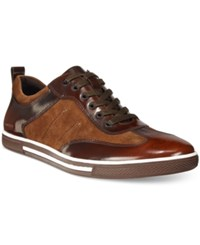 Kenneth Cole New York Men's Down The Hatch Sneakers Men's Shoes Dark Brown