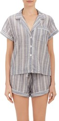 Steven Alan Multi Stripe Pajama Shirt Multi