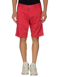 Basicon Trousers Bermuda Shorts Men Fuchsia