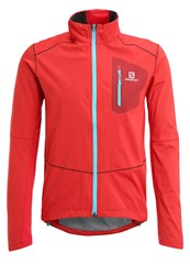 Salomon Equipe Soft Shell Jacket Matadorx Briquex Red