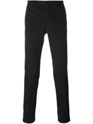 Incotex Skinny Fit Trousers Black