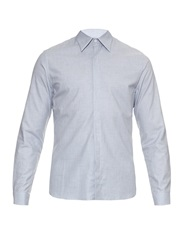 Mathieu Jerome Hidden Button Down Collar Cotton Shirt