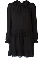 Vanessa Bruno Athe Peasant Dress Black