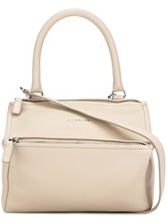 Givenchy Small 'Pandora' Tote Nude And Neutrals