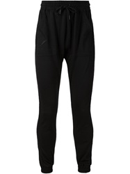 Publish Gathered Ankle Trousers Black