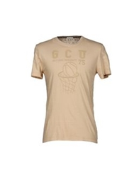 Gold Case By Rocco Fraioli T Shirts Pink