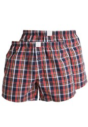 Esprit Giv 2 Pack Boxer Shorts Terracotta Red