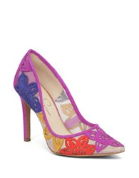 Jessica Simpson Charese Floral Pumps Multi Colored