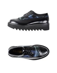Pause Lace Up Shoes Dark Blue