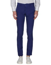 Massimo Rebecchi Trousers Casual Trousers Men Bright Blue