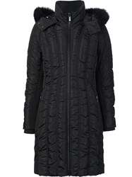 Zac Posen 'Carla' Padded Coat Black
