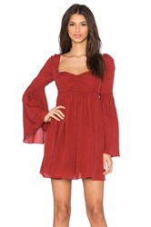 Free People Duchess Party Dress Red
