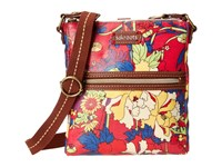 Sakroots Artist Circle Tablet Crossbody Hot Pink Flower Power Cross Body Handbags Red