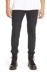 Zanerobe 'Slingshot' Denim Jogger Pants Broken Black