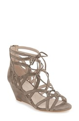 Kenneth Cole Women's New York 'Dylan' Wedge Sandal Elephant Suede