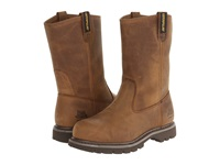 Caterpillar Revolver Steel Toe Dark Beige Lite Horn Women's Work Pull On Boots Brown