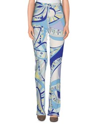 Emilio Pucci Trousers Casual Trousers Women Azure