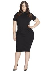 Beth Ditto Fitted Gathered Modal Dress