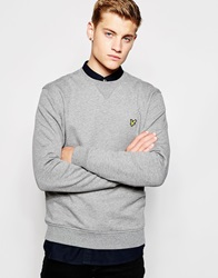 Lyle And Scott Vintage Sweatshirt With Crew Neck Grey