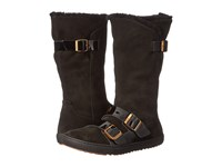 Birkenstock Danbury Shearling Lined Black Suede Leather Women's Boots